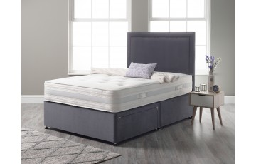 Cashmere Pocket 2000 Pocket Sprung 5ft King Divan Set