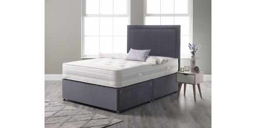 Cashmere Pocket 2000 Pocket Sprung 6ft Super King Divan Set