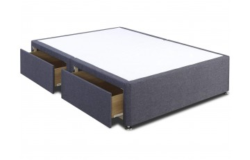 Galaxy 6ft Super King Size Divan Base Only