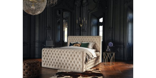 Caracus Upholstered 4ft Small Double Bed Frame