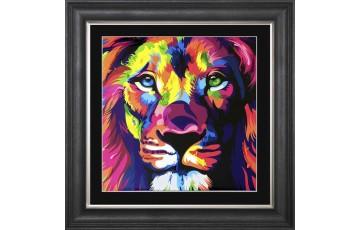 Patrice Murciano Lion Picture 75x75cm