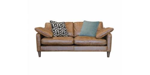 Hoxton Midi Leather Sofa