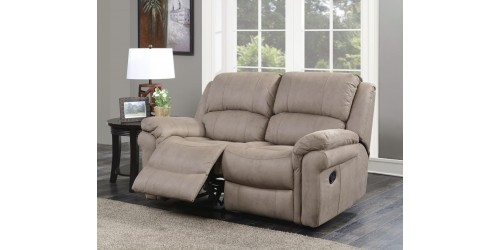 Farnham Taupe 2 Seater Reclining Sofa - In Stock!!!