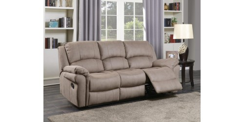 Farnham Taupe 3 Seater Reclining Sofa - In Stock!!!