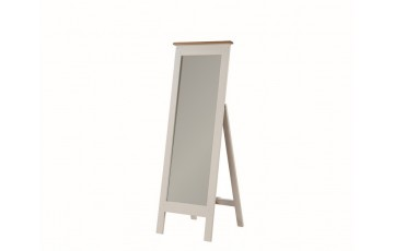 Henley Painted Oak Cheval Mirror