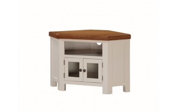Henley Painted Oak Corner TV Unit