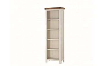 Henley Painted Oak Tall Slim Bookcase