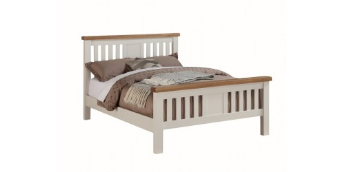 Henley Solid Oak 4ft6 Bed Frame