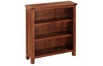 Hilton Acacia Low Bookcase