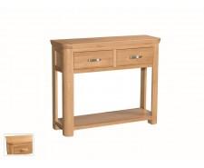 Tamworth Solid Oak / Oak Veneer Large Console - Standard