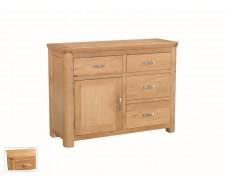 Tamworth Solid Oak / Oak Veneer Small Sideboard- Standard