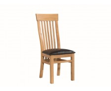 Tamworth Solid Oak / Oak Veneer Chair - Standard