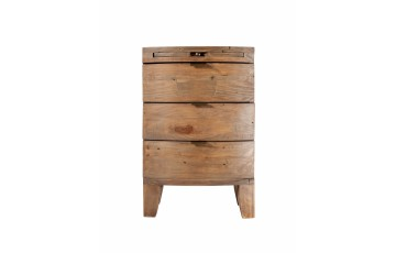 Bonaire 3 Drawer Bedside Chest