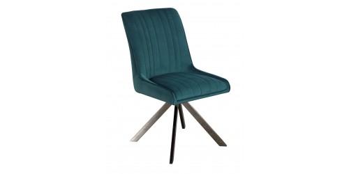 Chloe Velvet Dining Chair Teal