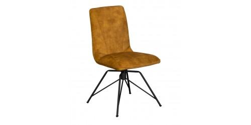 Luna Swivel Dining Chair Gold