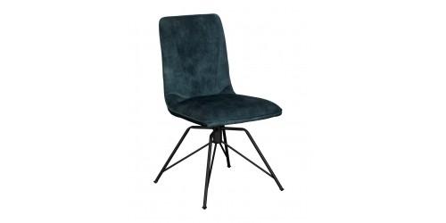 Luna Swivel Dining Chair Teal