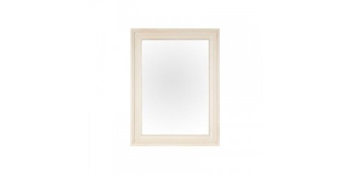 Canterbury Painted White Wall Mirror - Reclaimed Timber