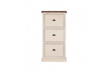 Canterbury Office Painted 3 Drawer Filing Cabinet - Multiple Colour Choices