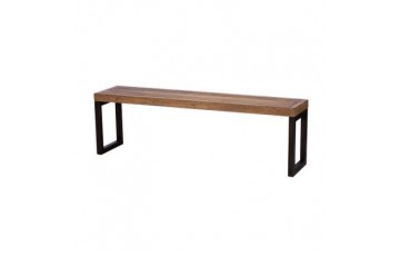 Nassau 155cm Reclaimed Wood Bench