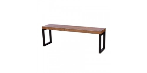 Nassau 140cm Bench - Solid Reclaimed Wood