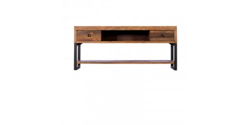 Nassau Large TV Unit - Solid Reclaimed Wood