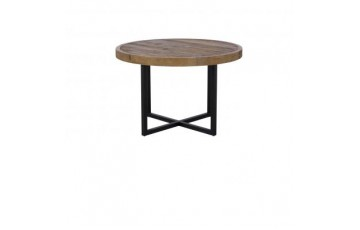 Nassau Round Dining Table - Solid Reclaimed Wood