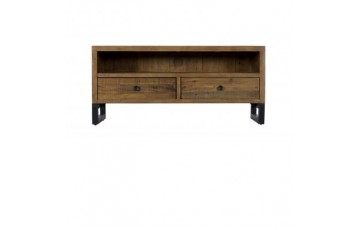 Nassau Small TV Unit - Solid Reclaimed Wood