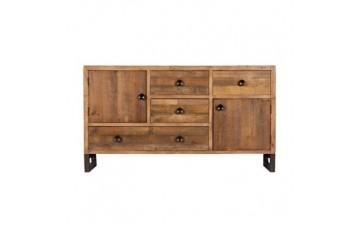 Nassau Wide Sideboard - Solid Reclaimed Wood