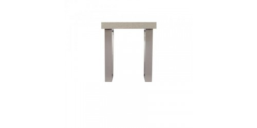 Paris Steel / Wooden Lamp Table