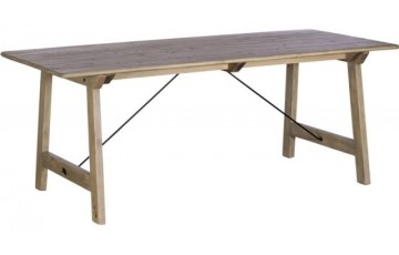 Vienna Reclaimed Wood 160cm Dining Table