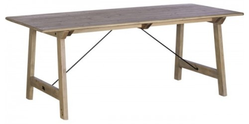Vienna Reclaimed Wood 200cm Dining Table