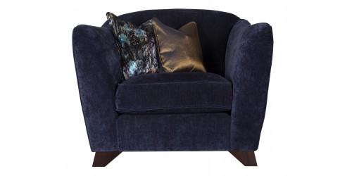 Azure Arm Chair