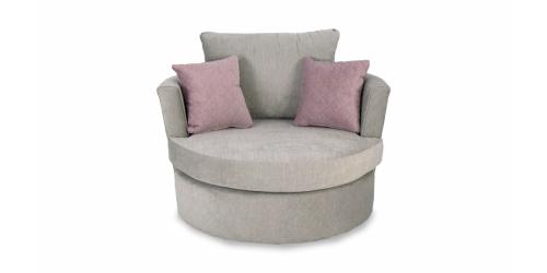 Bella Accent Swivel Chair