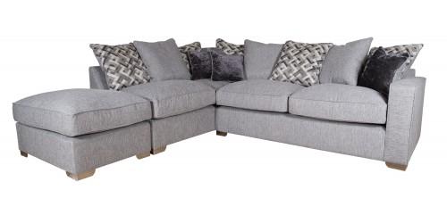 Chicago Pillowback Corner Sofa