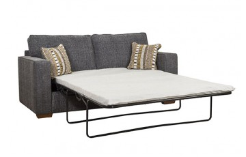 Chicago Upholstered Sofa Bed - Any Colour - 1.3m Mattress