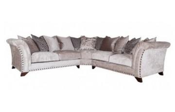 Buoyant Upholstery Vesper Pillowback Modular Corner Sofa