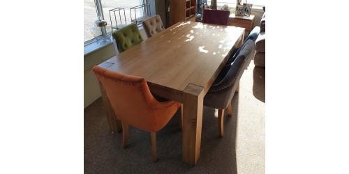 Monaco Oak Dining Table