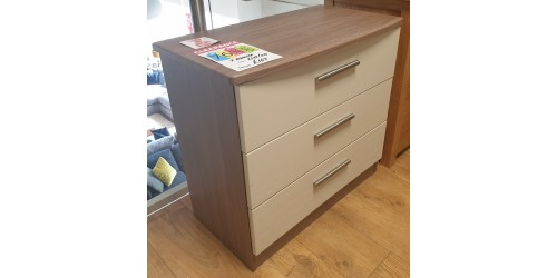 Kingston 3 Drawer Chest - SHOP FLOOR CLEARANCE