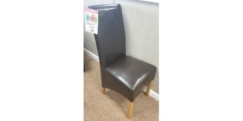 Richmond dining chair - SHOP FLOOR CLEARANCE