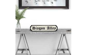Diagon Alley Road Sign