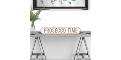 Prosecco Time Road Sign