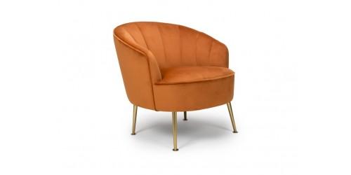 Sammy Pumpkin Occasional Chair
