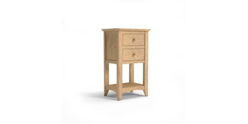 Cairo Lamp Table with 2 Drawers