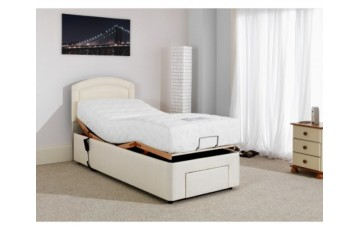 Furmanac Mibed Baroque 6ft (2 x 3ft linked) Electrically Adjustable Bed