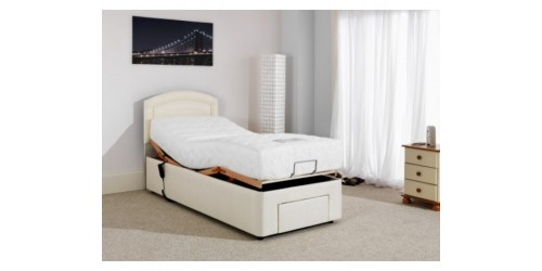 Furmanac Mibed Baroque 5ft (2 x 2ft6 linked) Electrically Adjustable Bed