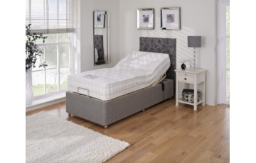 Furmanac Mibed Malvern 6ft (2 x 3ft linked) Electrically Adjustable Bed