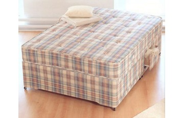 Baroness Orthopaedic Sprung 4ft Small Double Divan Set