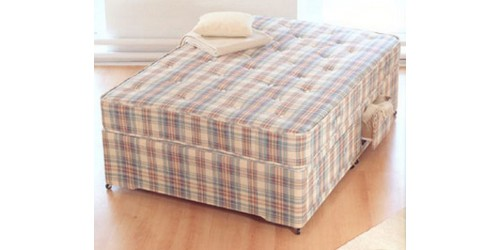 Baroness Orthopaedic Sprung 2ft6 Small Single Divan Set