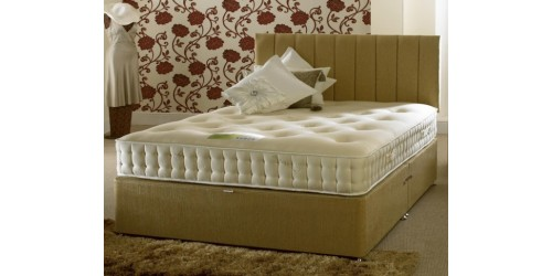 Bio Cotton Latex 1000 6ft Divan Set