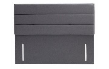 Striped Floor Standing Designer Headboard 4ft6 Double